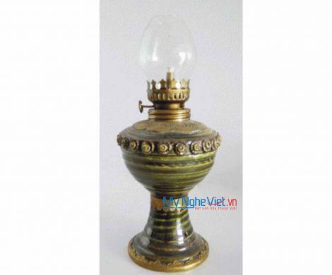 Đèn gốm bọc đồng nhỏ MNV-BTC01