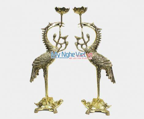 Đôi hạc Đồng - Bộ thờ cúng MNV-DD17