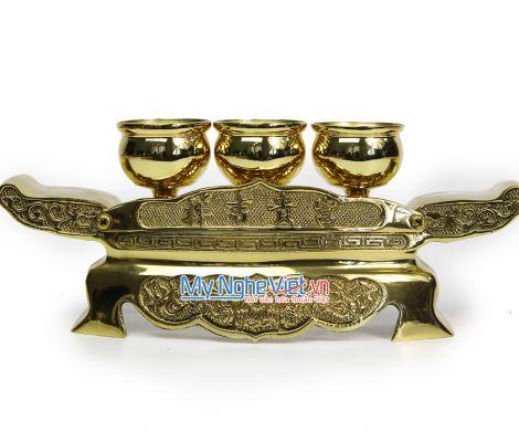 Bộ kỷ 3 chén - Bộ thờ cúng MNV-DD26