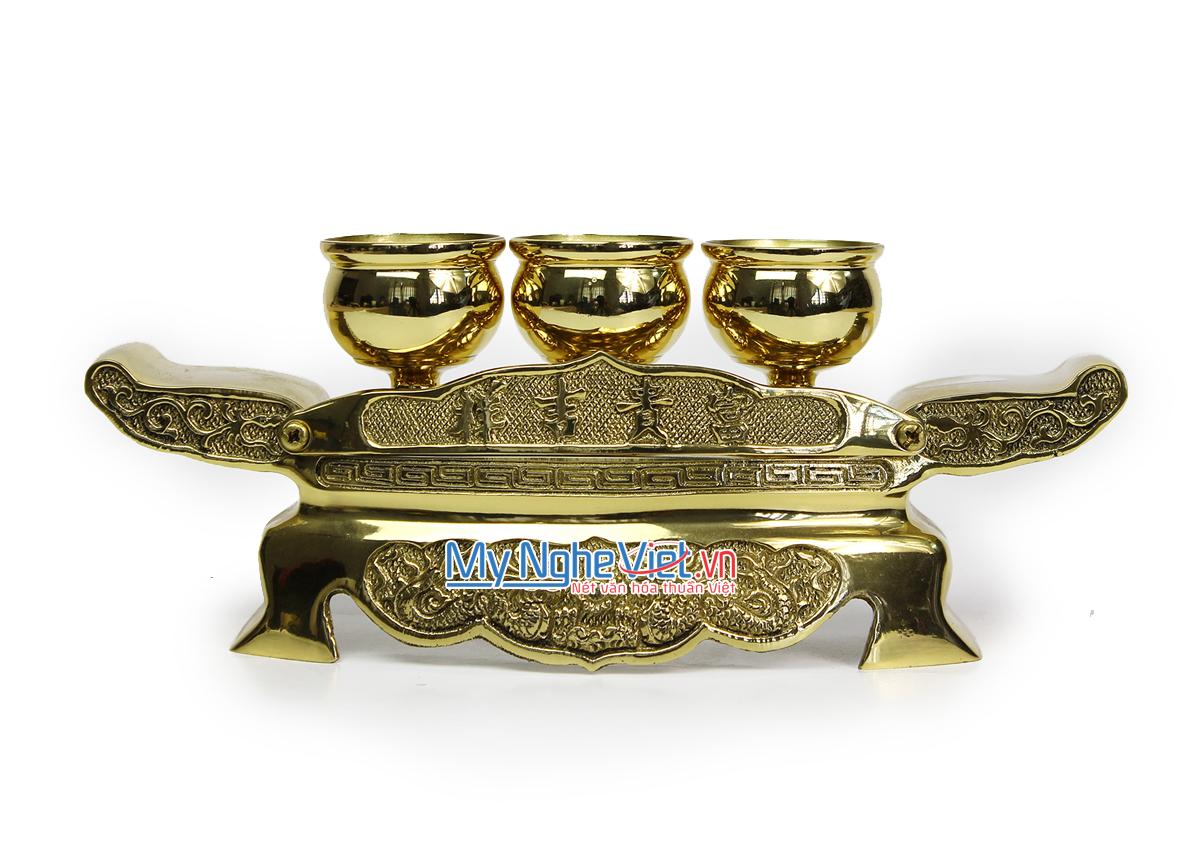 Đồ thờ cúng bằng đồng - Đại Bái